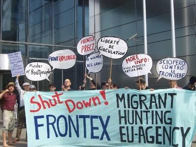 Push Back Frontex! Odepchnijmy Frontex!