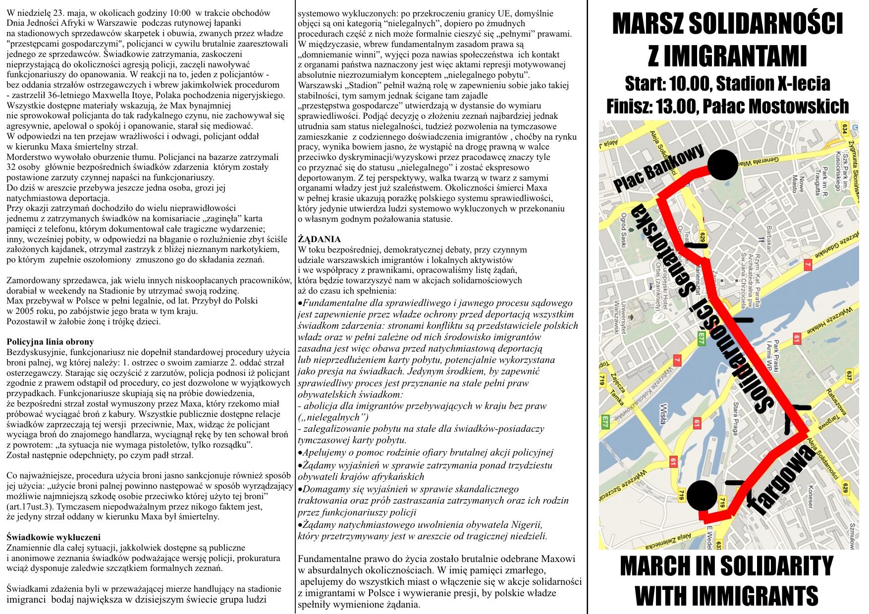 Mapa broszura PRZOD