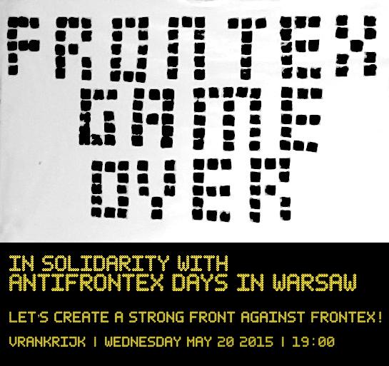 Amsterdam: wydarzenie soildarnościowe z Dniami AntyFrontexowymi. AntiFrontex days soli-event