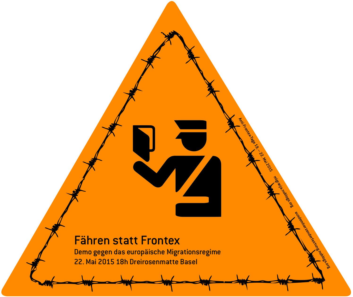 AntiFrontex demo in Basel [Swiss] 22 may | Demonstracja przeciw Frontexowi Bazylea [Szwajcaria] 22 maja