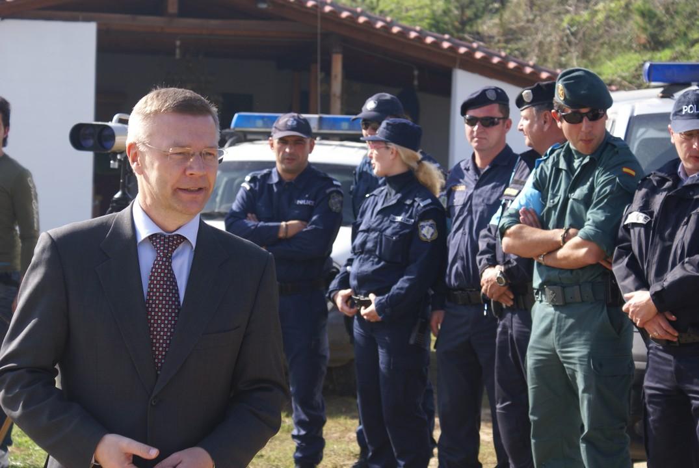 FRONTEX 1st general- Ilka Laitinien