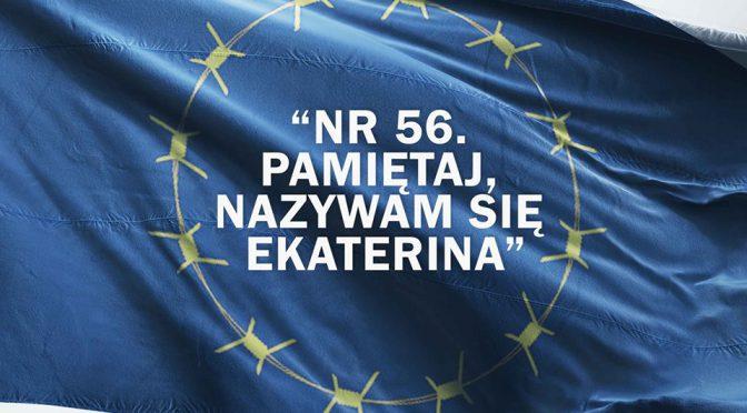 """Warszawa: promocja książki """"Nr 56. Pamiętaj, nazywam się Ekaterina"""""""